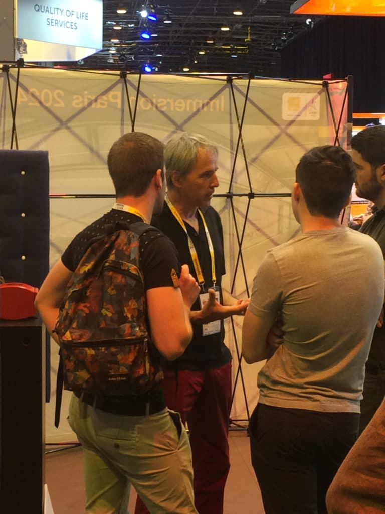 0W1 audio at Vivatechnology Orange Booth