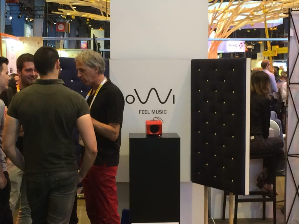 0W1 audio The eco-friendly Music system at Vivatechnology